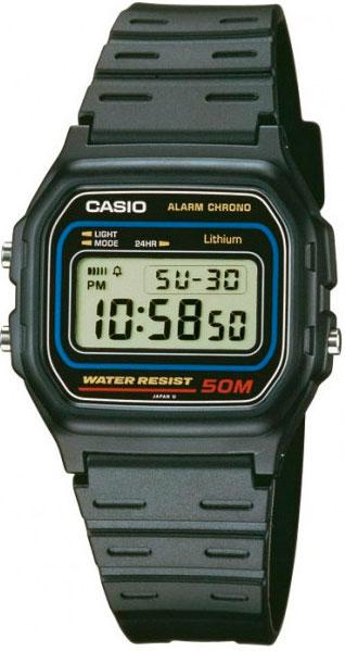 Купить Японские часы Casio W-59-1