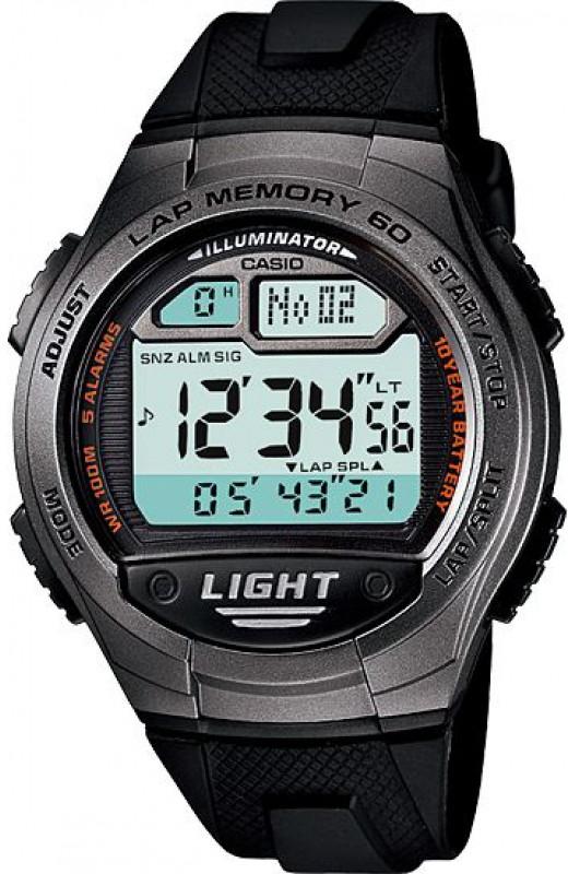 Купить Японские часы Casio W-734-1A