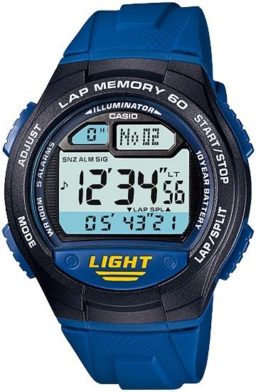 Купить Японские часы Casio W-734-2A
