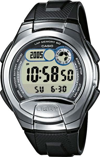 Купить Японские часы Casio W-752-1A