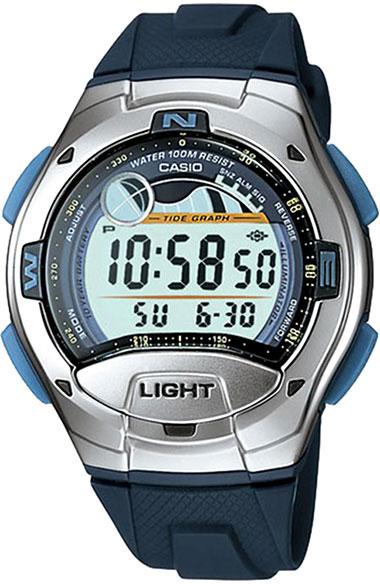 Купить Японские часы Casio W-753-2A
