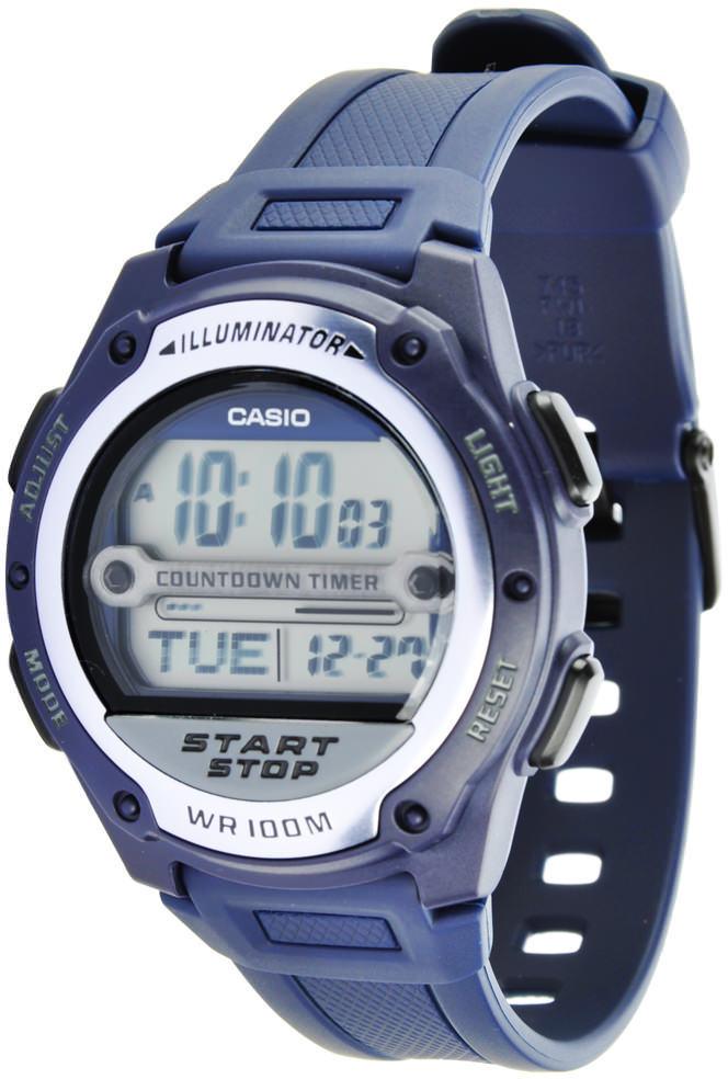 Купить Японские часы Casio W-756-2A