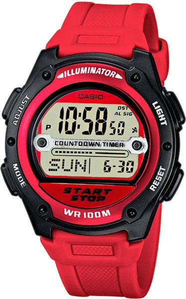 Купить Японские часы Casio W-756-4A