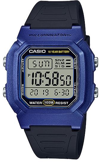 Купить Японские часы Casio Standard W-800HM-2AVEF