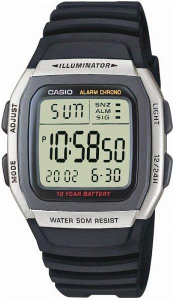 Купить Японские часы Casio W-96H-1A