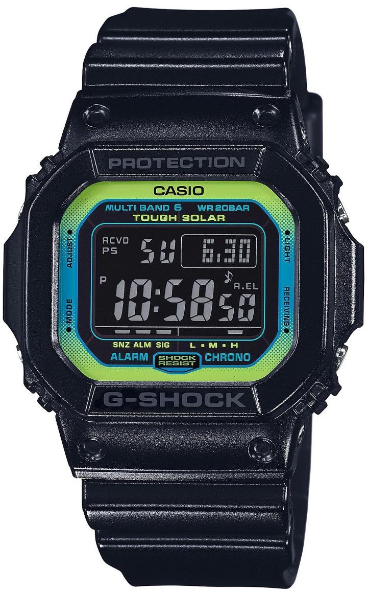 Casio G-shock GW-M5610LY-1EНаручные часы<br>Японские часы Casio G-shock GW-M5610LY-1E<br><br>Пол: Мужские<br>Страна-производитель: Япония<br>Механизм: Кварцевый<br>Материал корпуса: Пластик<br>Материал ремня/браслета: Пластик<br>Водозащита, диапазон: None<br>Стекло: Минеральное<br>Толщина корпуса: 12,7 мм<br>Стиль: None