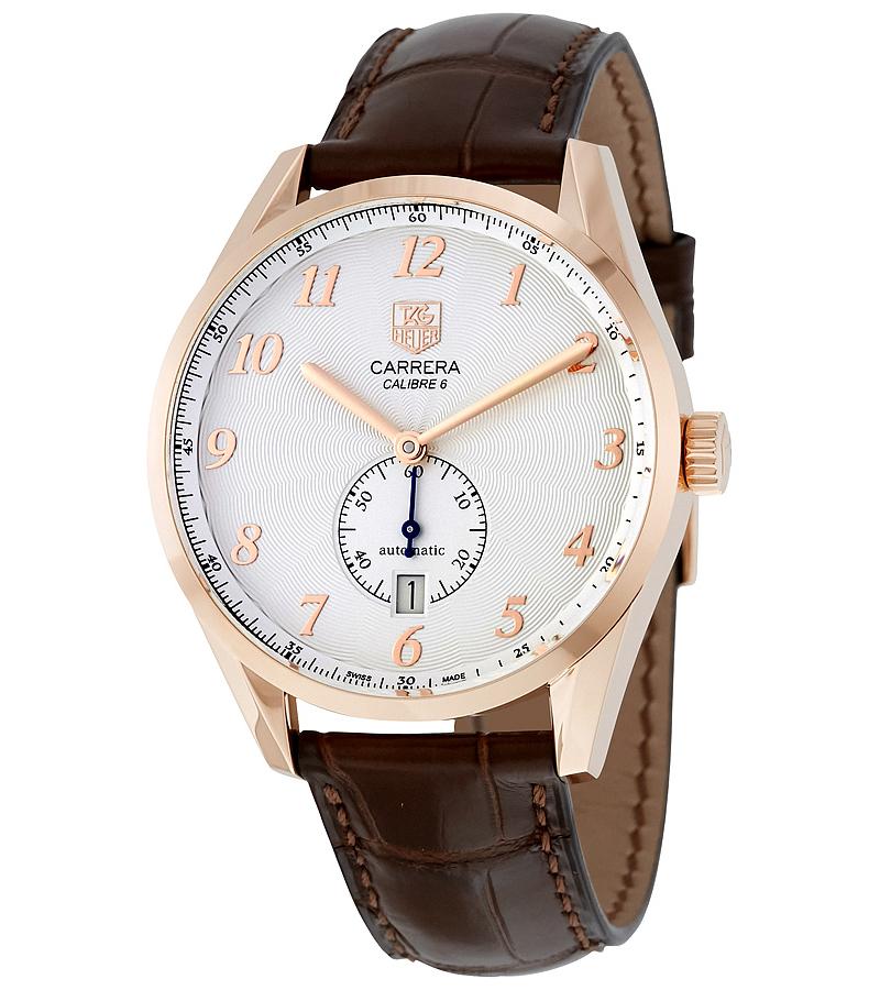 TAG Heuer Carrera WAS2140.FC8176Наручные часы<br>Швейцарские часы TAG Heuer Carrera WAS2140.FC8176Данная модель — яркий представитель коллекции Carrera. Это модные Мужские часы. Материал корпуса часов — Золото. Ремень — Кожа. В этой модели стоит Сапфировое стекло. Водозащита этих часов 100 м.<br><br>Для кого?: Мужские<br>Страна-производитель: Швейцария<br>Механизм: Механический<br>Материал корпуса: Золото<br>Материал ремня/браслета: Кожа<br>Водозащита, диапазон: 100 - 150 м<br>Стекло: Сапфировое<br>Толщина корпуса: None<br>Стиль: None