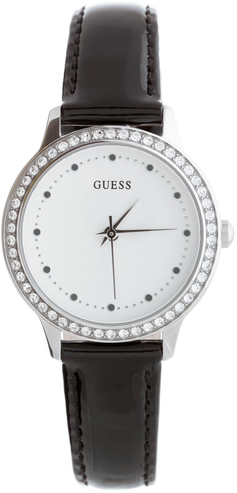 Guess Chelsea W0648L7Наручные часы<br>Американские часы Guess Chelsea W0648L7<br><br>Пол: Женские<br>Страна-производитель: США<br>Механизм: Кварцевый<br>Материал корпуса: Сталь<br>Материал ремня/браслета: Кожа<br>Водозащита, диапазон: None<br>Стекло: Минеральное<br>Толщина корпуса: 8  мм<br>Стиль: None