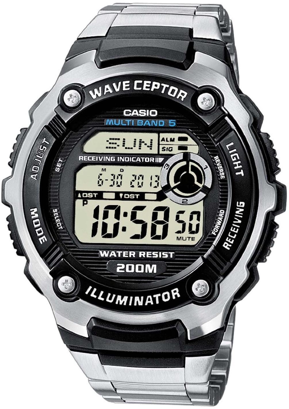 Купить Японские часы Casio Wave Ceptor WV-200DE-1A