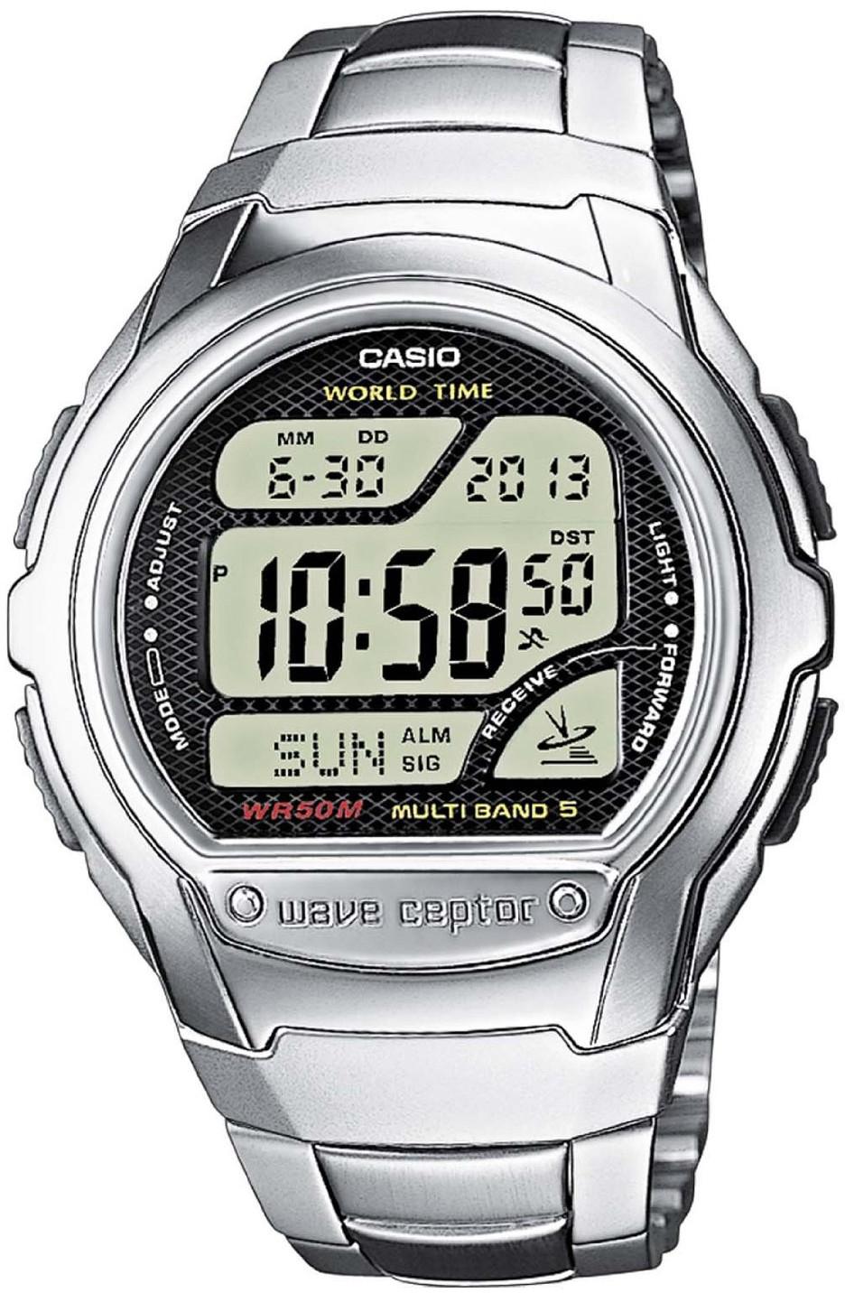 Купить Японские часы Casio Wave Ceptor WV-58DE-1A