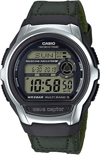 Купить Японские часы Casio Wave Ceptor WV-M60B-3A