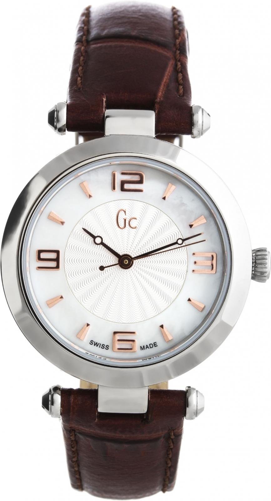 Gc Sport Chic X17001L1Наручные часы<br>Швейцарские часы Gc Sport Chic X17001L1Данная модель входит в коллекцию Sport Chic. Это женские часы. Материал корпуса часов — сталь. Стекло - сапфировое. Водозащита - 30 м.<br><br>Пол: Женские<br>Страна-производитель: Швейцария<br>Механизм: Кварцевый<br>Материал корпуса: Сталь<br>Материал ремня/браслета: Кожа<br>Водозащита, диапазон: 20 - 100 м<br>Стекло: Минеральное<br>Толщина корпуса: None<br>Стиль: None