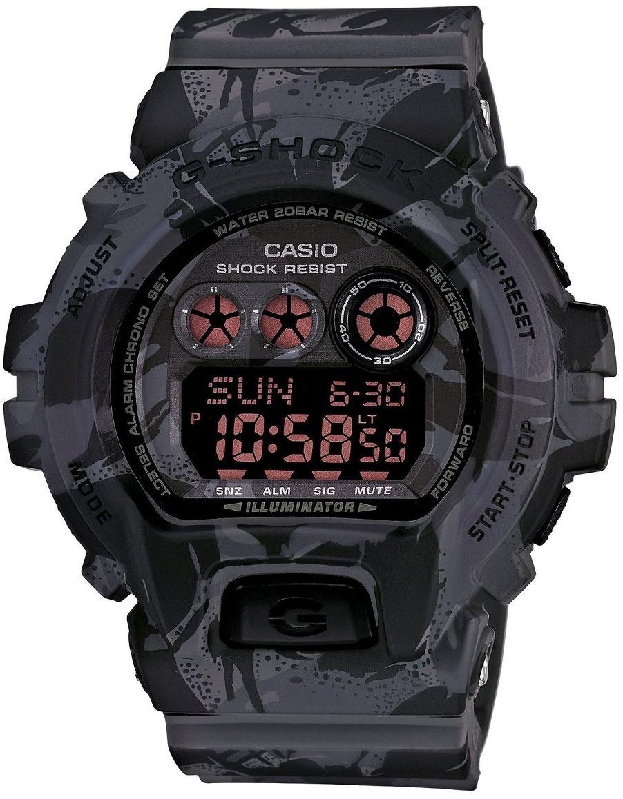 Casio G-shock GD-X6900MC-1EНаручные часы<br>Японские часы Casio G-shock GD-X6900MC-1E<br><br>Пол: Мужские<br>Страна-производитель: Япония<br>Механизм: Кварцевый<br>Материал корпуса: Пластик<br>Материал ремня/браслета: Каучук<br>Водозащита, диапазон: None<br>Стекло: Минеральное<br>Толщина корпуса: 20,4 мм<br>Стиль: None