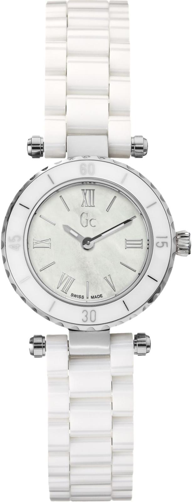 Gc Sport Chic X70007L1SНаручные часы<br>Швейцарские часы Gc Sport Chic X70007L1SЧасы входят в модельный ряд коллекции Sport Chic. Это женские часы. Материал корпуса часов — сталь+керамика. Циферблат часов защищает сапфировое стекло. Часы этой модели обладают водозащитой 100 м.<br><br>Пол: Женские<br>Страна-производитель: Швейцария<br>Механизм: Кварцевый<br>Материал корпуса: Сталь+керамика<br>Материал ремня/браслета: Керамика<br>Водозащита, диапазон: 100 - 150 м<br>Стекло: Сапфировое<br>Толщина корпуса: None<br>Стиль: None