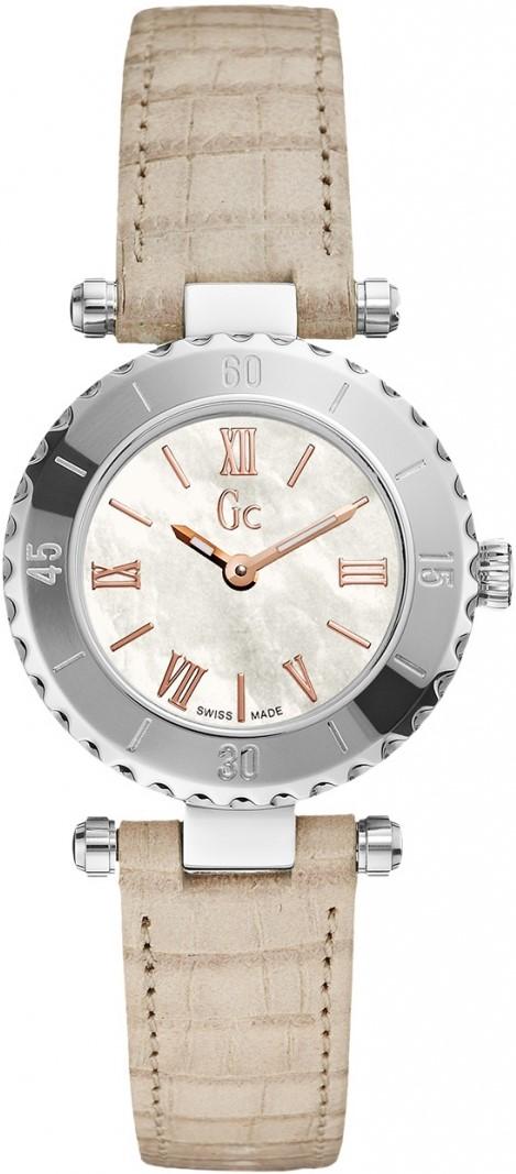 GC Sport Chic X70030L1SНаручные часы<br>Швейцарские часы GC Sport Chic X70030L1S<br><br>Пол: Женские<br>Страна-производитель: Швейцария<br>Механизм: Кварцевый<br>Материал корпуса: Сталь<br>Материал ремня/браслета: Кожа<br>Водозащита, диапазон: 100 - 150 м<br>Стекло: Сапфировое<br>Толщина корпуса: 9 мм<br>Стиль: Спорт