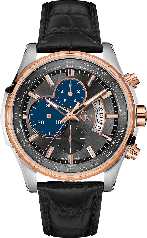 Gc Classic X81011G5SНаручные часы<br>Швейцарские часы Gc Classic X81011G5S<br><br>Пол: Мужские<br>Страна-производитель: Швейцария<br>Механизм: Кварцевый<br>Материал корпуса: Сталь<br>Материал ремня/браслета: Кожа<br>Водозащита, диапазон: None<br>Стекло: Сапфировое<br>Толщина корпуса: 12 мм<br>Стиль: None