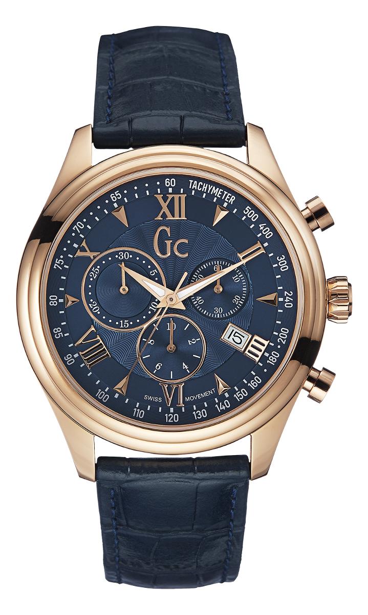 Gc Classic Y04008G7Наручные часы<br>Швейцарские часы Gc Classic Y04008G7<br><br>Для кого?: Мужские<br>Страна-производитель: Швейцария<br>Механизм: Кварцевый<br>Материал корпуса: Сталь<br>Материал ремня/браслета: Кожа<br>Водозащита, диапазон: None<br>Стекло: Минеральное<br>Толщина корпуса: 11 мм<br>Стиль: None