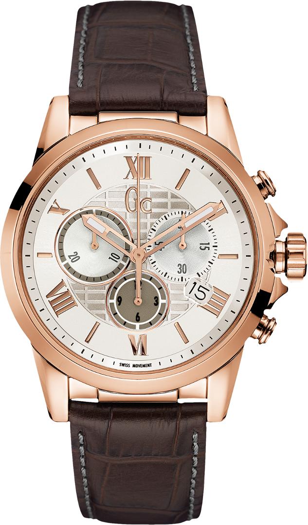 Gc Classic Y08006G1Наручные часы<br>Швейцарские часы Gc Classic Y08006G1<br><br>Пол: Мужские<br>Страна-производитель: Швейцария<br>Механизм: Кварцевый<br>Материал корпуса: Сталь<br>Материал ремня/браслета: Кожа<br>Водозащита, диапазон: None<br>Стекло: Минеральное<br>Толщина корпуса: 11,5 мм<br>Стиль: None