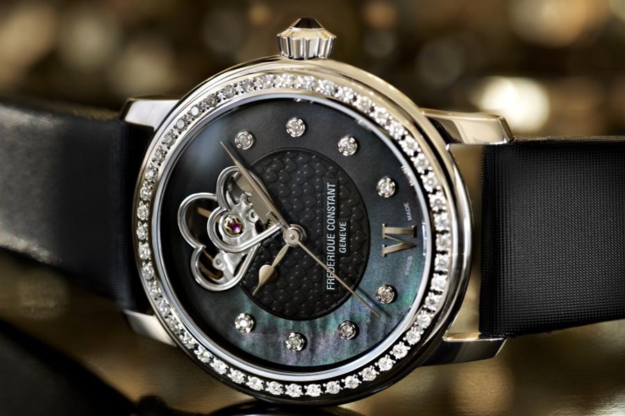 Женские часы Frederique Constant Heart Beat в подарок на день влюбленных