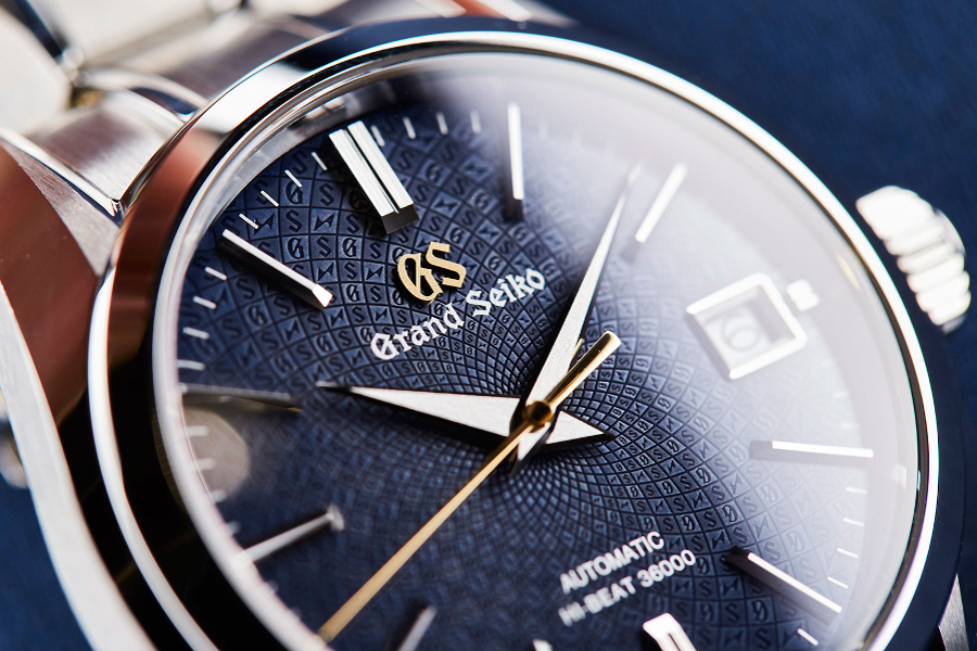 Циферблат часов Grand Seiko Hi-Beat 36000 Calibre 9S SBGH267 20th Anniversary Edition на BASELWORLD 2018