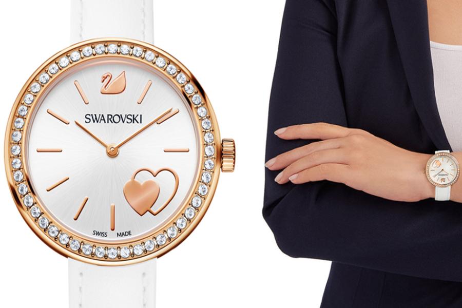 Женские часы Swarovski Daytime на день святого святого валентина девушке